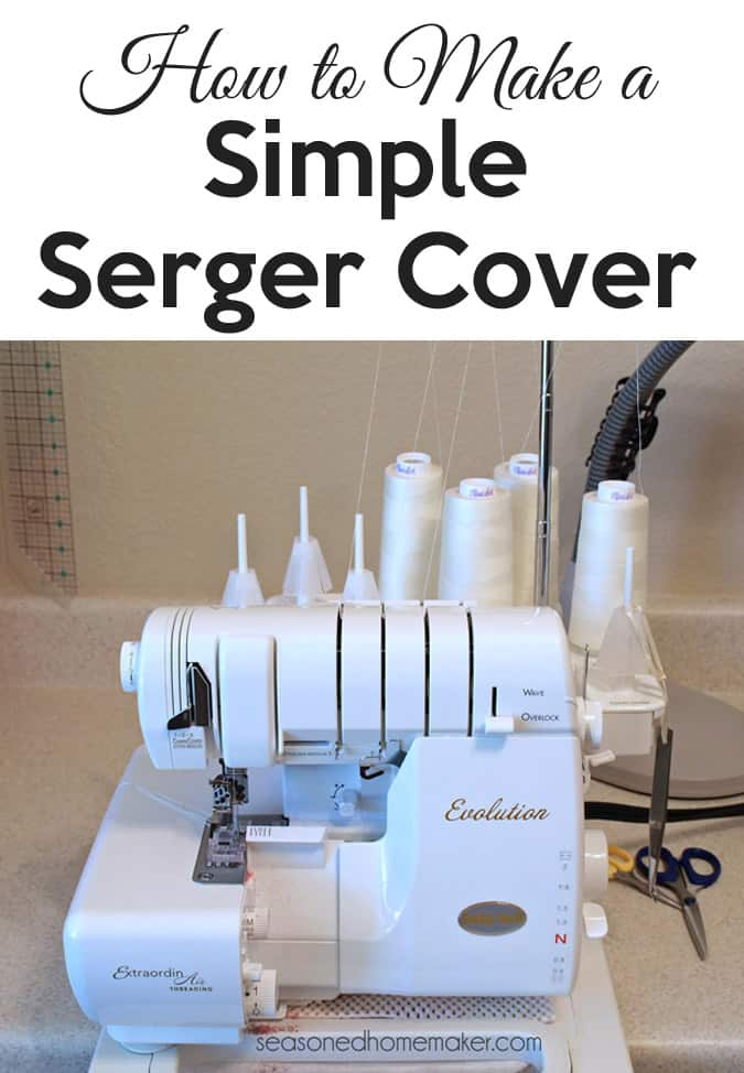 Serger Cover Tutorial