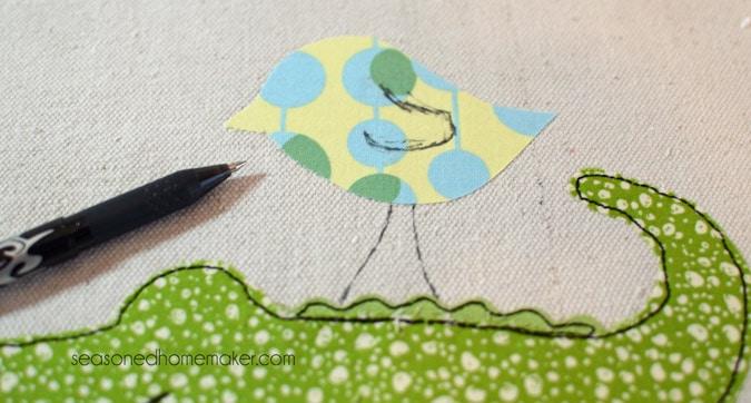 add details to bird