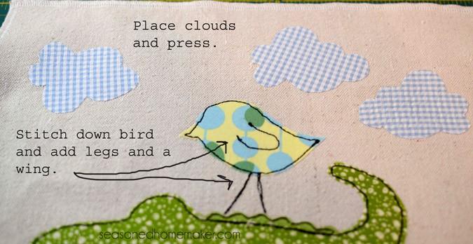 add clouds