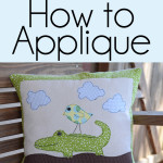 Appliqué is a fun way to express yourself and embellish pillows, bags, and anything you desire. Anyone can learn How to Applique by following my simple, step-by-step tutorial.