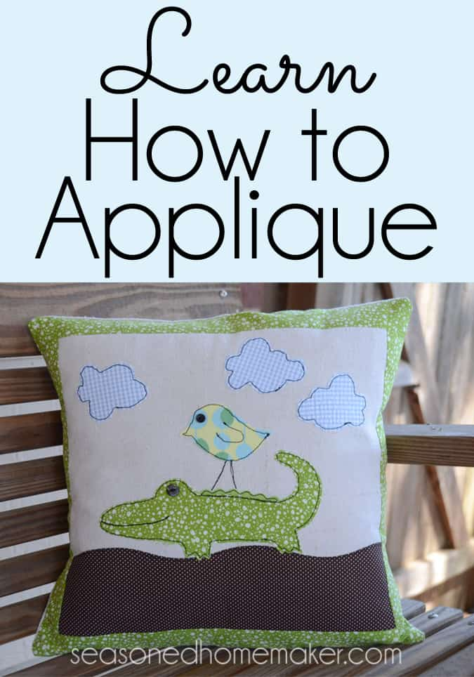 Learn How to Applique Pin