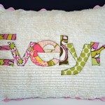 How To Applique Lettering