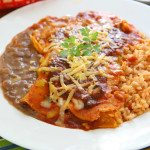 Authentic Tex-Mex Enchilada Dinner