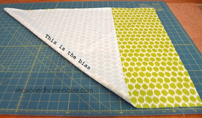 Simple and detailed tutorial explaining how to add piping to an envelope pillow. All you need is a sewing machine and the ability to sew a straight stitch. Find out how easy it is to Add Piping to a Pillow.