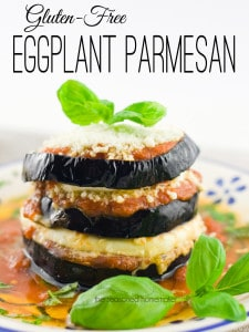 I love eggplant parmesan, but hate the occasional bitterness? I have two secrets that get rid of that bitter taste. Both of these them will make the most heavenly Gluten-Free Eggplant Parmesan you've ever tasted.
