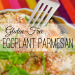 The key to excellent Gluten-Free Eggplant Parmesan is salting the eggplant slices and then giving it time to let the salt draw out the liquid. The second key: Knowing the difference between a 'male' and 'female' eggplant. Both of these secrets will make the most heavenly Gluten-Free Eggplant Parmesan you've ever tasted.