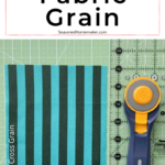 Finding the Fabric Grain
