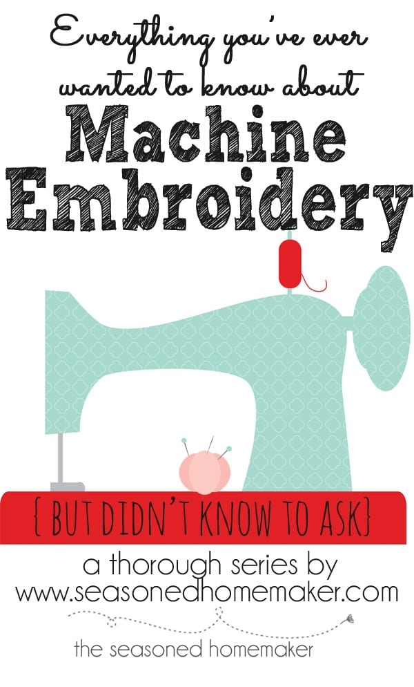 Machine Embroidery: If you are thinking about getting a sewing machine that includes Machine Embroidery then you will want to read All About Machine Embroidery. I have 31 Popular Posts that cover every possible thing you could want to know.