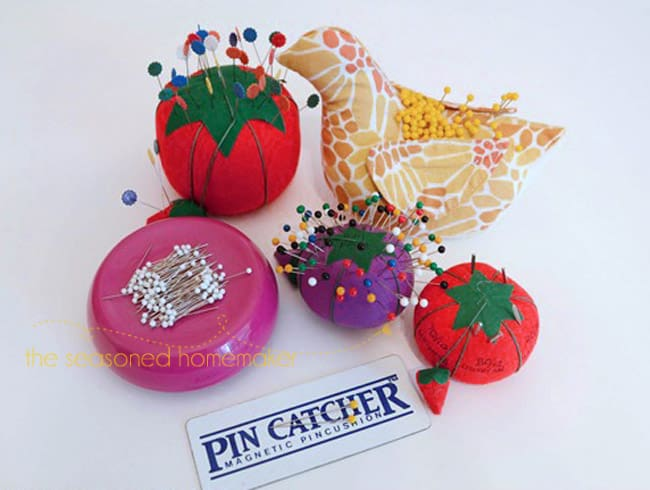 All About Sewing Pins