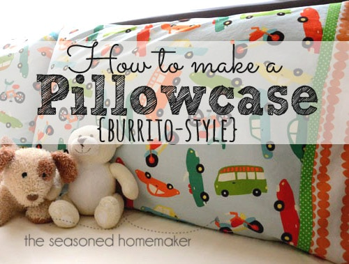 Pillowcase Pattern Easiest Way To Sew A Pillowcase