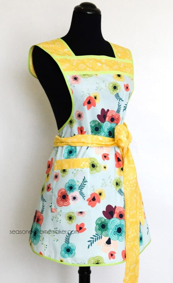 Retro Chic Apron Pattern
