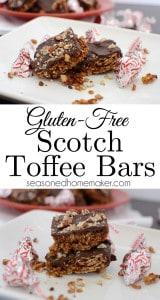 Gluten-Free Toffee Bar.