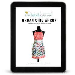 Urban Chic Apron Pattern iPad