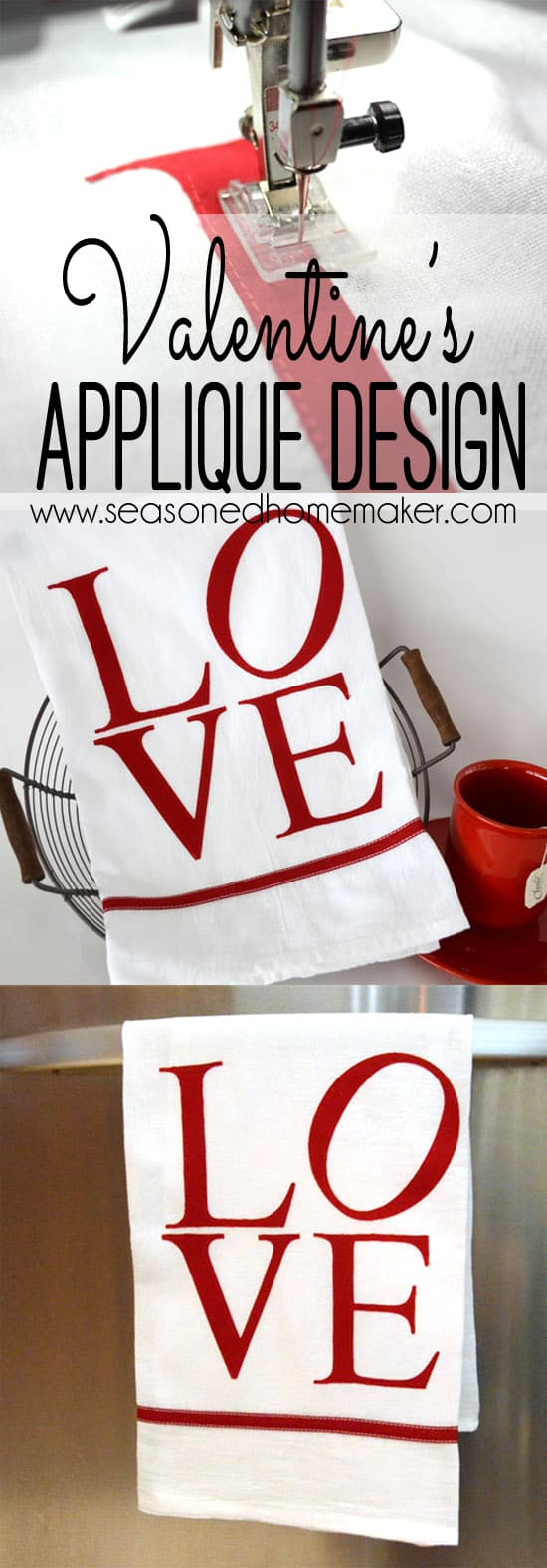 Cute Valentine's Day Sewing Idea