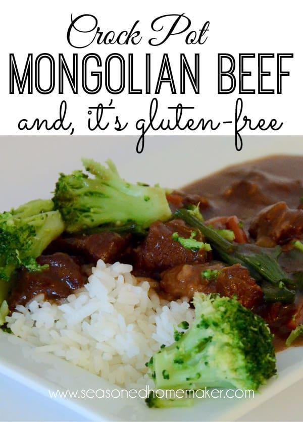 Gluten-Free Crock Pot Mongolian Beef