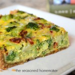 Gluten-Free & Grain-Free Vegetable Quiche Recipe