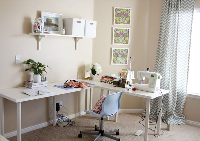 Sewing Room Design Ideas sewing room layout1 You Dont Need A Huge Home In Order To Have A Sewing Or Craft