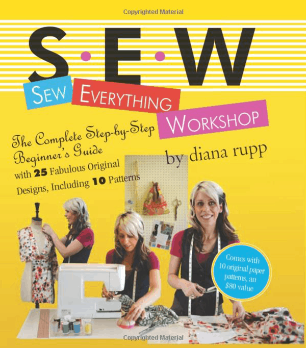 Beginner Sewing Books for People Learning to Sew