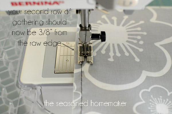 How To Gather Fabric And Make Ruffles Gorgeous Gathering Stitch On Sewing Machine