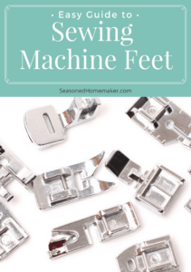 All About Sewing Machine Feet