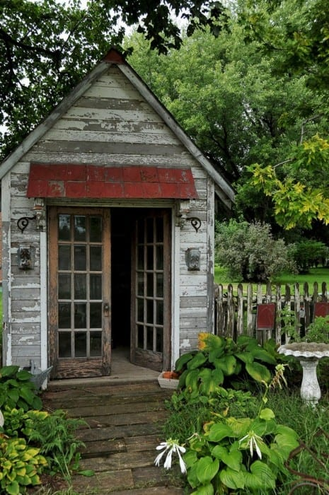 Garden sheds the seasoned homemaker for Large garden buildings