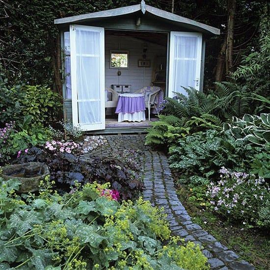 Garden sheds the seasoned homemaker for Unique garden shed designs