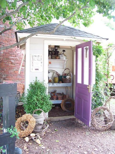 Garden Sheds The Seasoned Homemaker