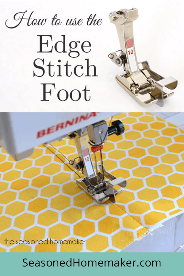 How to Use an Edge Stitch Foot for Perfect Stitches