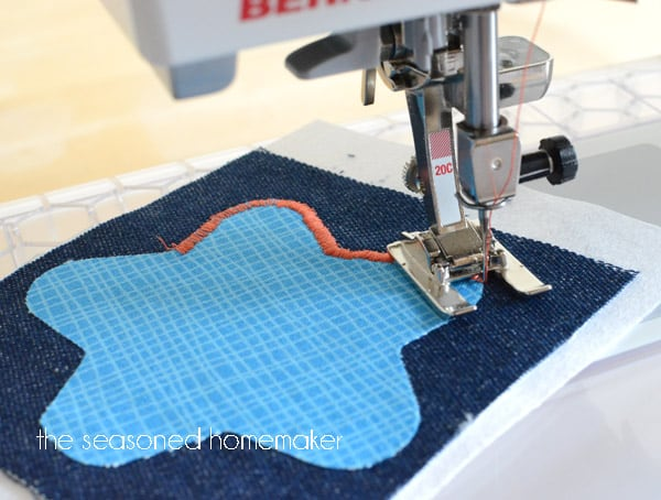 satin stitch sewing machine
