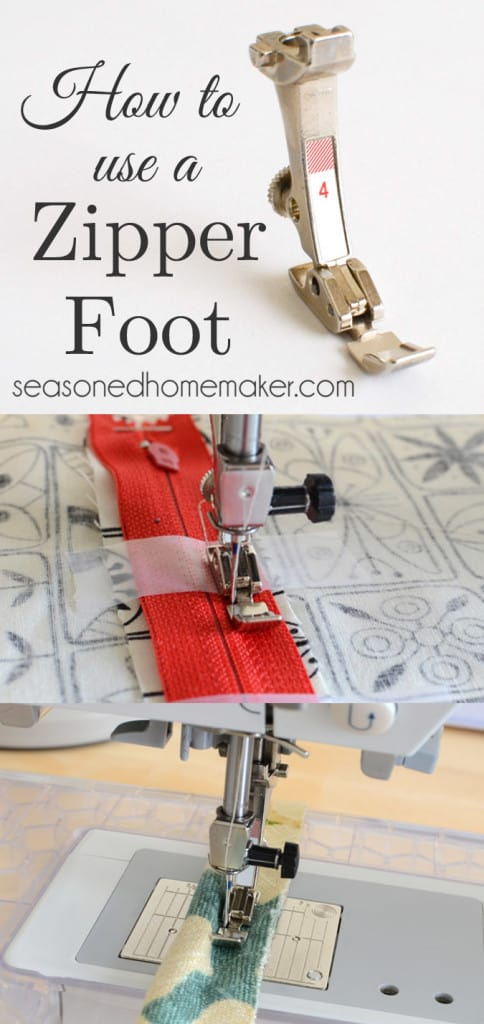 Sewing Machine Feet The Zipper Foot Simple Types Of Sewing Machine Feet