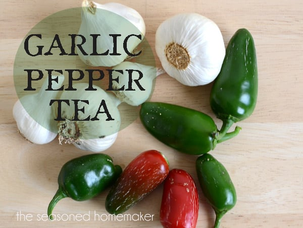 Garlic Pepper Tea is a Natural and