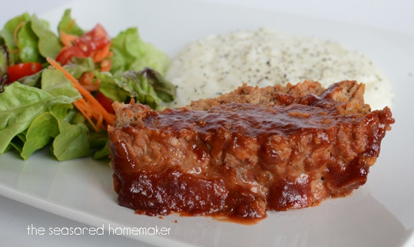 Healthy, GF Meatloaf