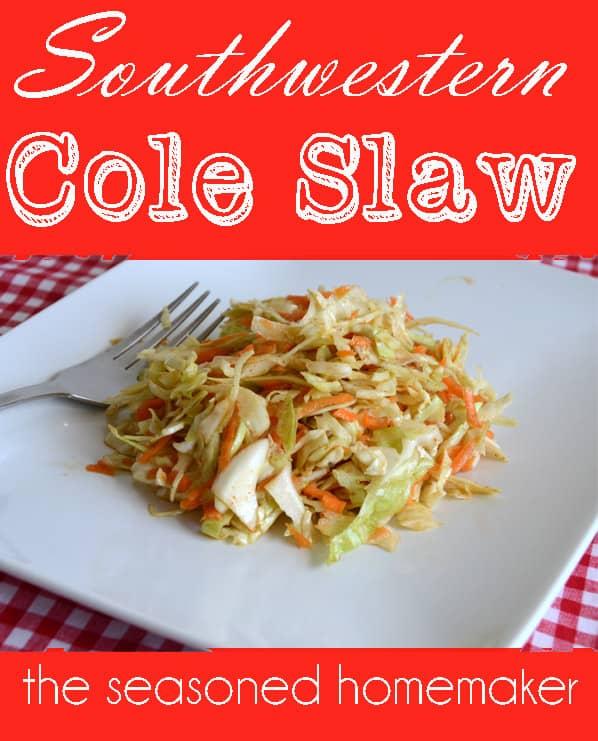 Southwestern Coleslaw Recipe — Dishmaps