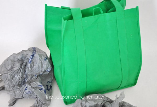 how to make a reversible lined tote bag the seasoned homemaker