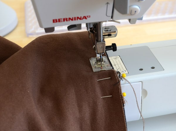 How To Make A Reversible Lined Tote Bag The Seasoned Homemaker Inspiration Manly Sewing Machine