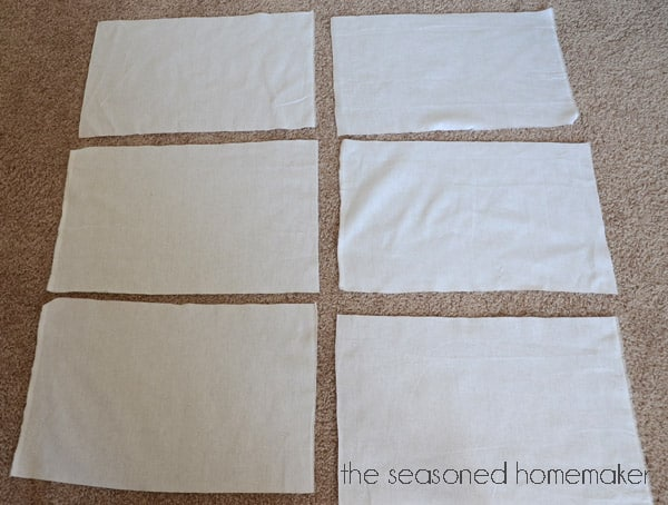If you own a serger you'll want to make a handful of these Reusable, Paperless UnPaper Towels. In less than 10 minutes you will have a stack of these ready to use. And, they make awesome gifts as well. Don't own a serger? Scroll to the bottom for other ways to sew them.