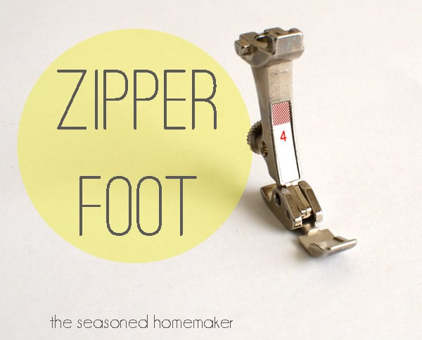 Zipper Foot Uses
