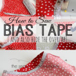 Attaching Bias Tape