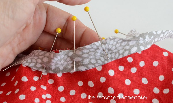 Attaching Bias Tape can make any sewing project stand out. Bias Tape is perfect for craft projects, too. Learn How to Sew Bias Tape the correct way. It's so easy.