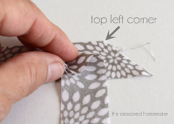 Making Bias Tape is easier than you think. Once you learn this simple sewing technique you will never purchase bias tape again. Think of all the sewing possibilities.