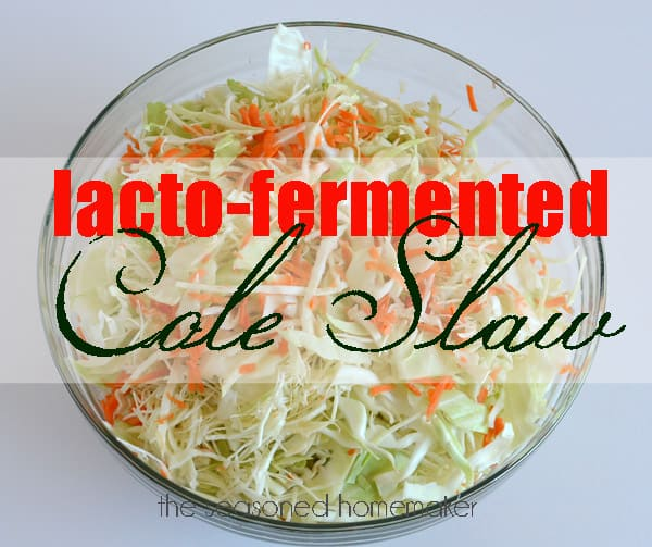 How to Make Lacto-Fermented Food