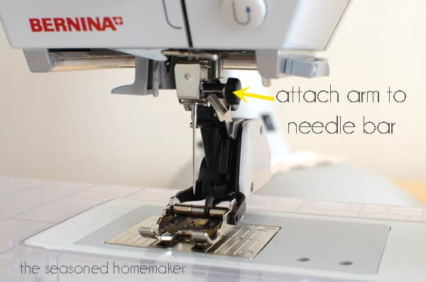 How to Use a Sewing Machine Walking Foot