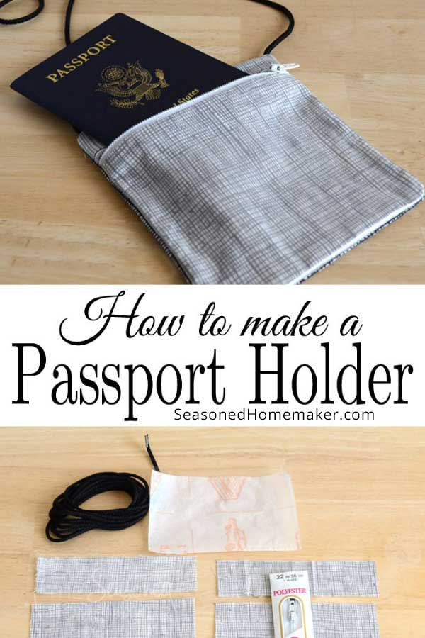 How to Make a Passport Holder Pin