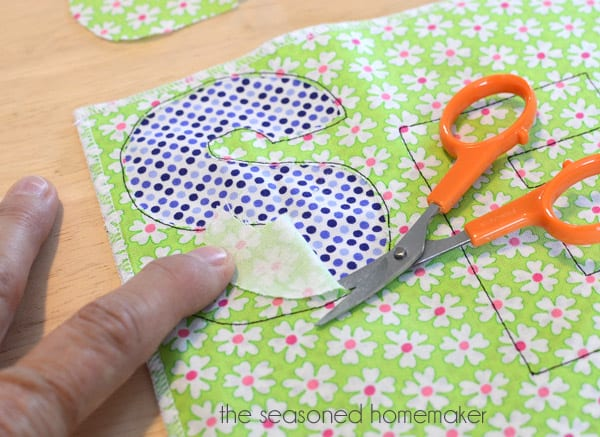 Appliqué is a fun way to express yourself with fabric. Learn How to Applique by following these simple steps. It's easier than you think.