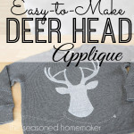 Deer Head Applique