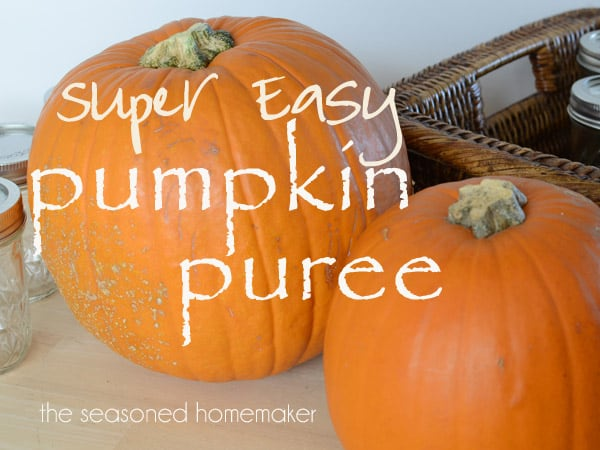 Super Easy Pumpkin Puree