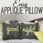 How to Make a Pillow with Lettering