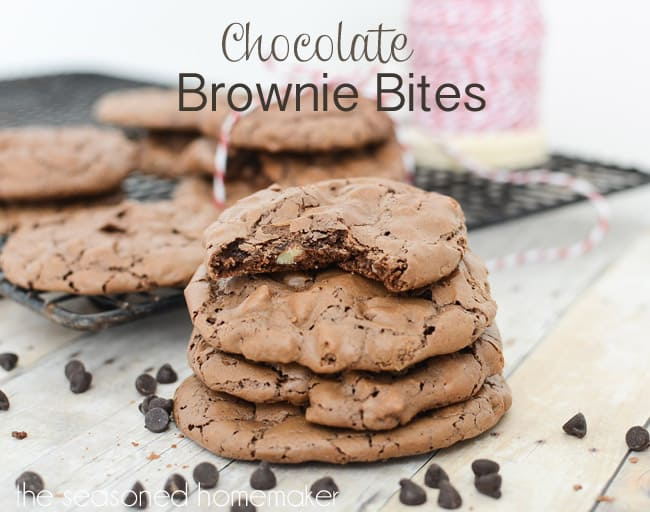 Gluten free chocolate brownie bites