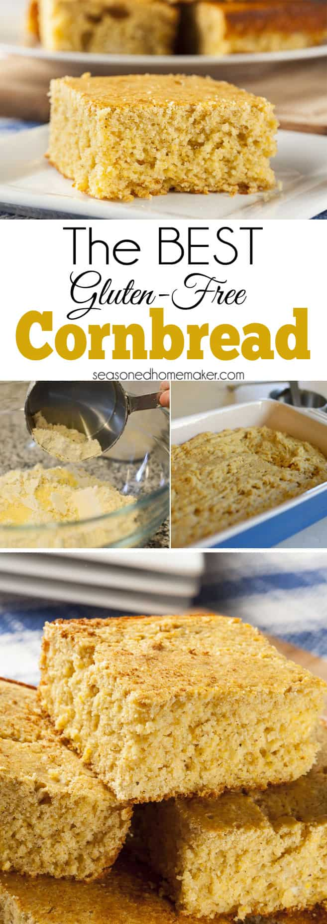 The BEST Gluten-Free Cornbread Recipe