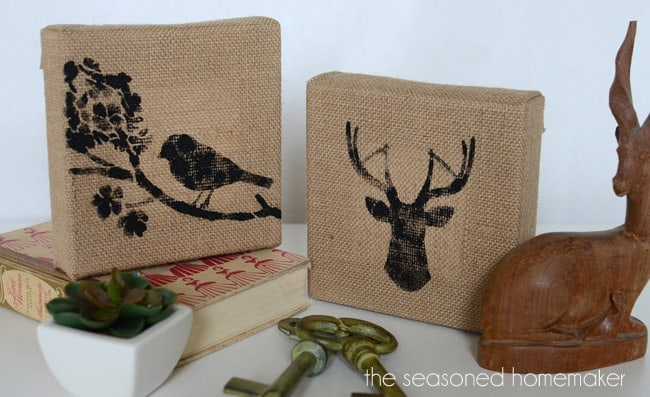 Burlap Decor